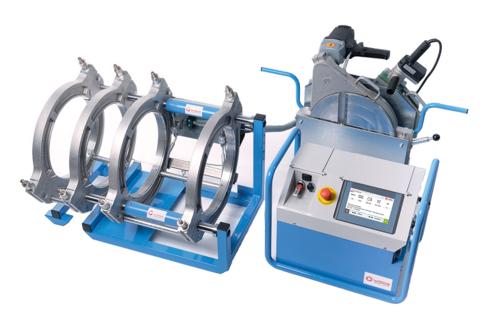 Anlage komplett mit WI-CNC 6.0 Hydrauliksteuerung, Heizelement und Planhobel im Einstellkasten