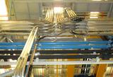 Rack tuberías de transporte neumático