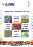 ADDITIVE MASTERBATCHES FOR AGRO AND OUTDOOR