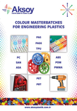 COLOUR MASTERBATCHES FOR ENGINEERING PPOLYMERS