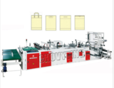 Fully Automatic Plastic Hand Bag Making Machine (Four Functions)