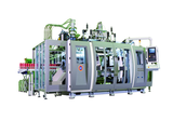 2-Layer Co-Extrusion Blow Moulding Machine for 200ml-400ml shampoo bottle