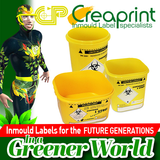 IML LABELS FOR CLINICAL WASTE CONTAINERS