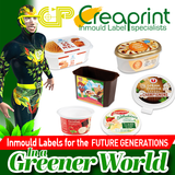 IML LABELS FOR FOODSTUFF PACKAGING