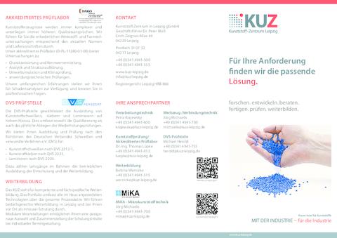 2019 KUZ Leistungsspektrum
