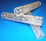 ESASTAR - Extruded Acrylic Tubes with Air Bubbles