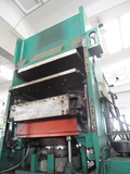 Compression Press with Plates Structure 600 TON
