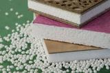 Sandwich components including bio polymer foams verstärkte Schaumbauteile