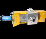 hydraulic slide plate screen changer