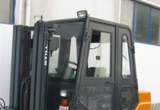 Forklift windows