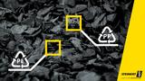 Sortenreine Sortierung schwarzer Kunststoffe