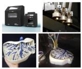 3ntr 3D-Drucker A2 und A4 mit 3 Düsen für den Druck mit 2 Komponenten