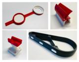 Teile mit 2 verschiedenen Eigenschaften gedruckt mit A2 3D-Drucker
