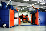 Rotational moulding systems