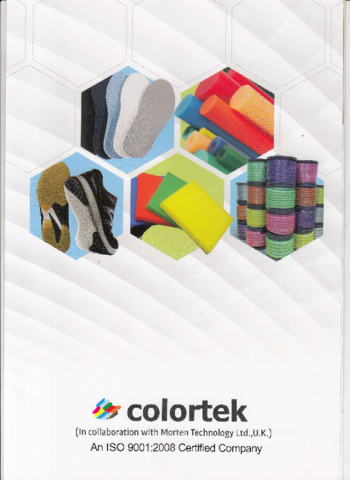 COLORTEK CATALOGUE