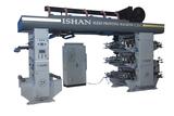 flexo printing machine with doctor blade chamber
