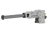 Parts for counter-rotating twin screw extruder