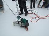 Roof welding machine type LarOn H