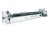 Stand-Up, 3-Side-Seal, Zipper and 4-Border-Seal bags Making Machine