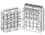 Injection-mold bi material