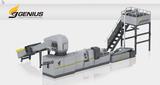 Cutter Compactor Plastic Recycling Machine