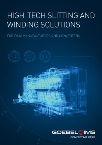 High-tech Slitting and Winding Solutions for Film Manufacturers and Converters