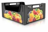 In Mould Labels ( IML ) for Fruit&Vegetables crates