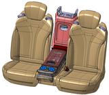 Projektbeispiel: Daimler W222 S-Klasse Mittelarmlehne SA hinten