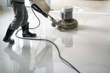 epolene person polishing floor